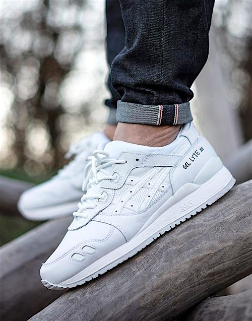 Asics Gel Lyte Iii Pure Pack White Http Sneakerscartel Com Sneakers Shoes Kicks Jordan Lebron Nba Nike Adidas Reebok Reebok Sneaker Herren Sneaker