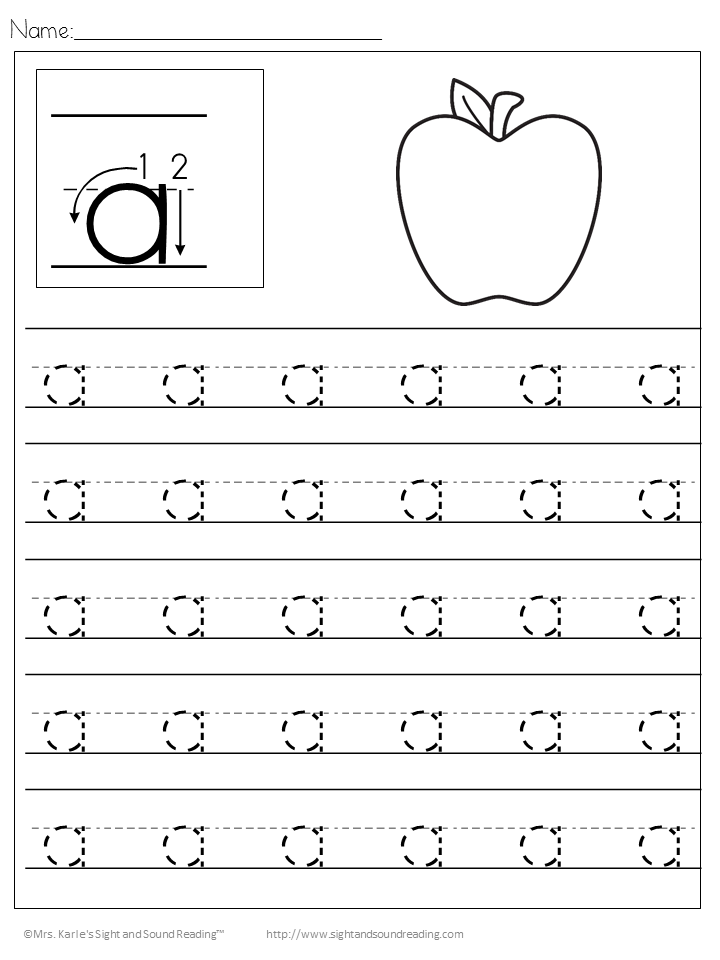 26 Free Preschool Handwriting Practice Worksheets-Easy Download!