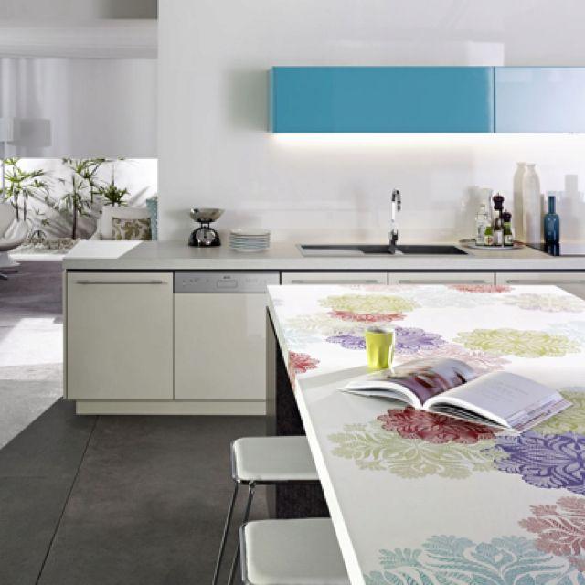 Kitchen Benchtop Storage Ideas: Divine Bathroom Kitchen Laundry #Laminex