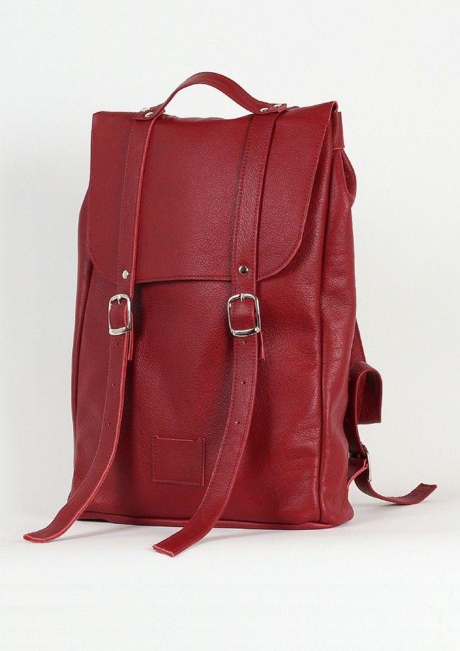 Kokosina_Medium-backpack_Wine-red-packshot_Just-Fashion