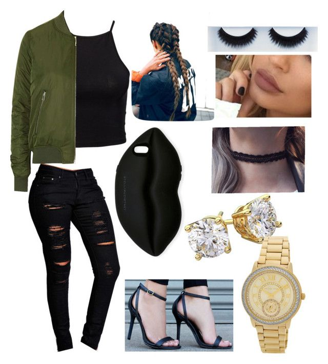 """Fashion Nova Inspired"" by salutemeebony17 ❤ liked on Polyvore featuring NLY Trend, Topshop, Boohoo, LULUS, STELLA McCARTNEY, BBrowBar and MICHAEL Michael Kors"