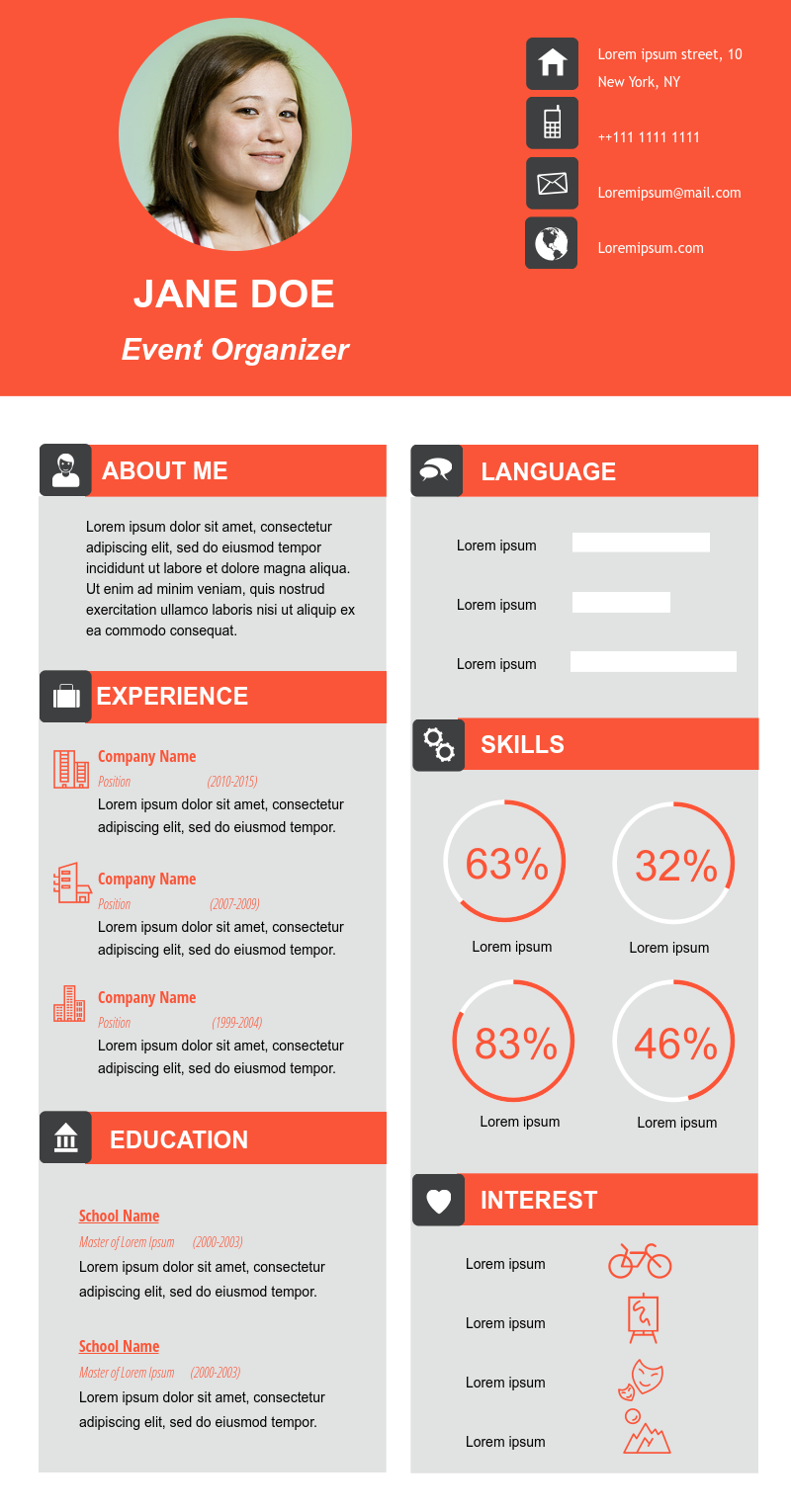 Awesome Resume Design Ideas For Your Professional Career Cv