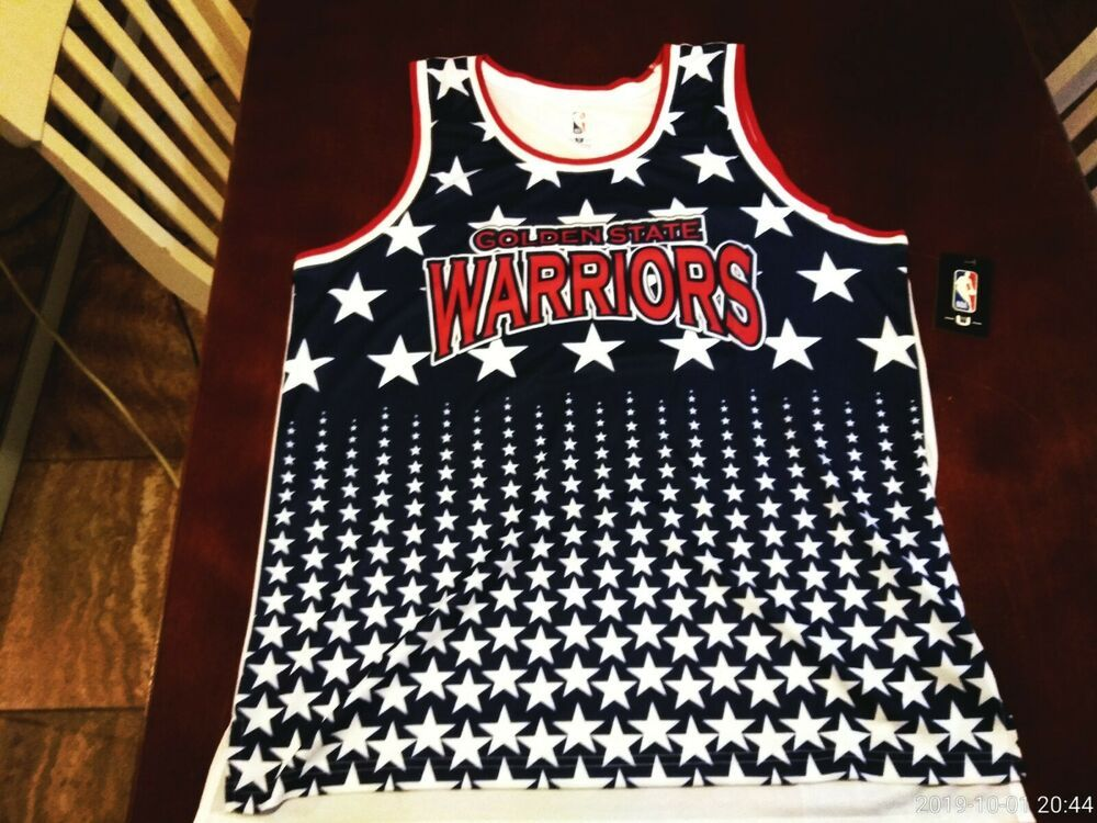 stable quality quality so cheap XL Licensed Navy, White, Red GOLDEN STATE WARRIORS, Stars ...