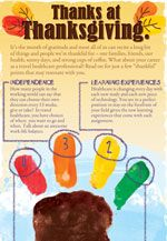 Infographic Thanks At Thanksgiving November Is The Month Of Gratitude So It S The Perfect Time To Thanksgiving Infographic Health Care Thanksgiving Travel