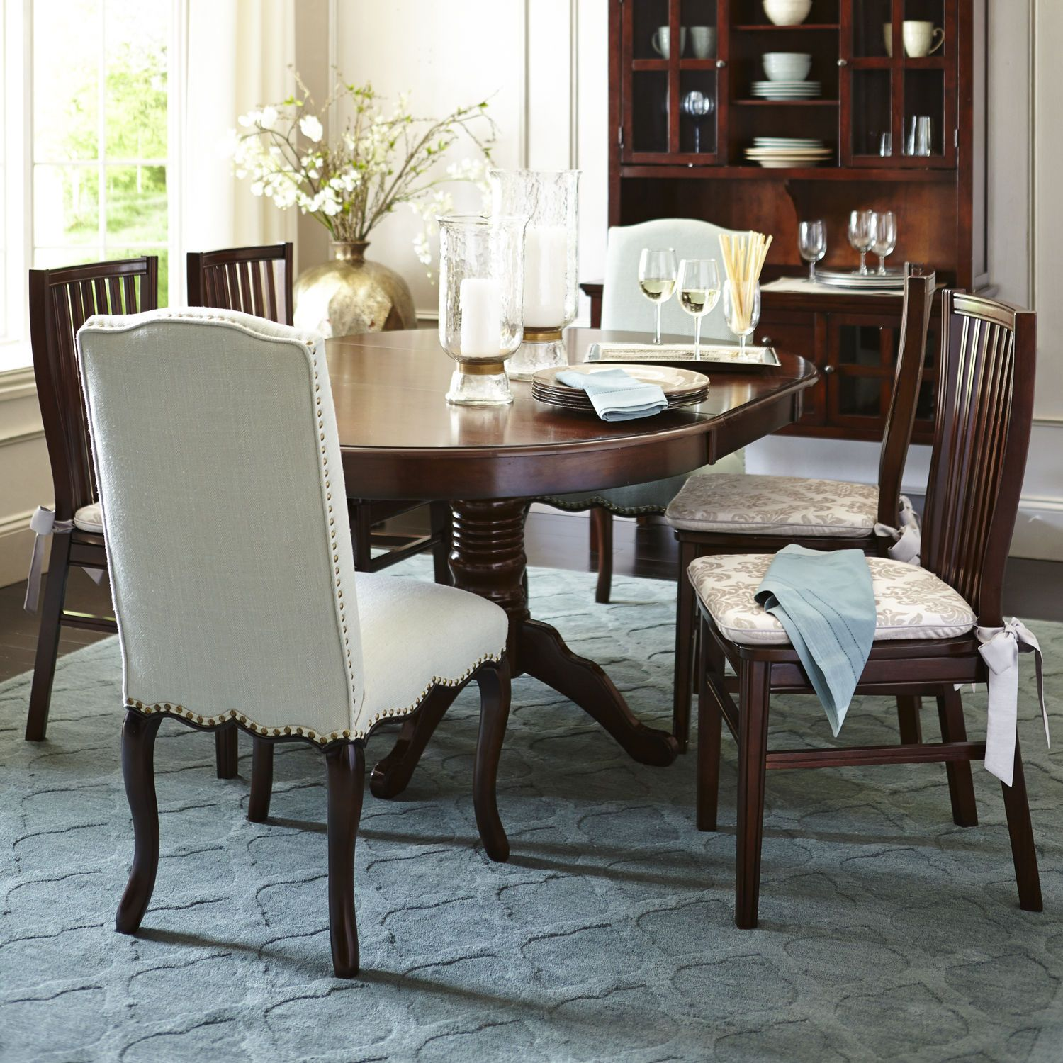 Good Way To Start Replacing Old Dining Room Chairs Two Accent