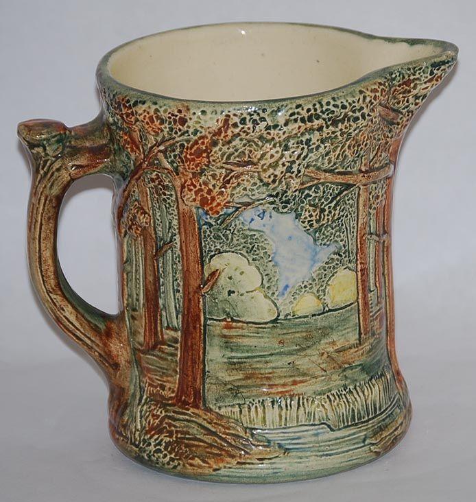 Buy Huge American Art Deco Nudes Vase from Artedeco