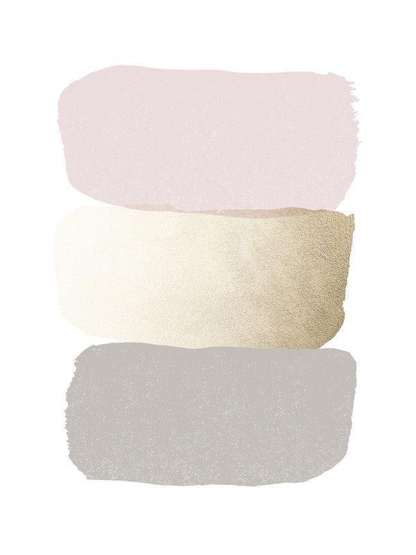 Rose Quartz And Lilac Grey The Colours Pintrest Is Going Crazy For Dezdemon Home Decorideas Top Girl Room Colour Schemes Color Schemes