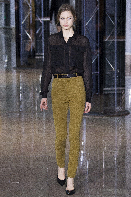 Anthony Vaccarello Fall 2016 Ready-to-Wear Fashion Show - Annika Krijt (Elite)