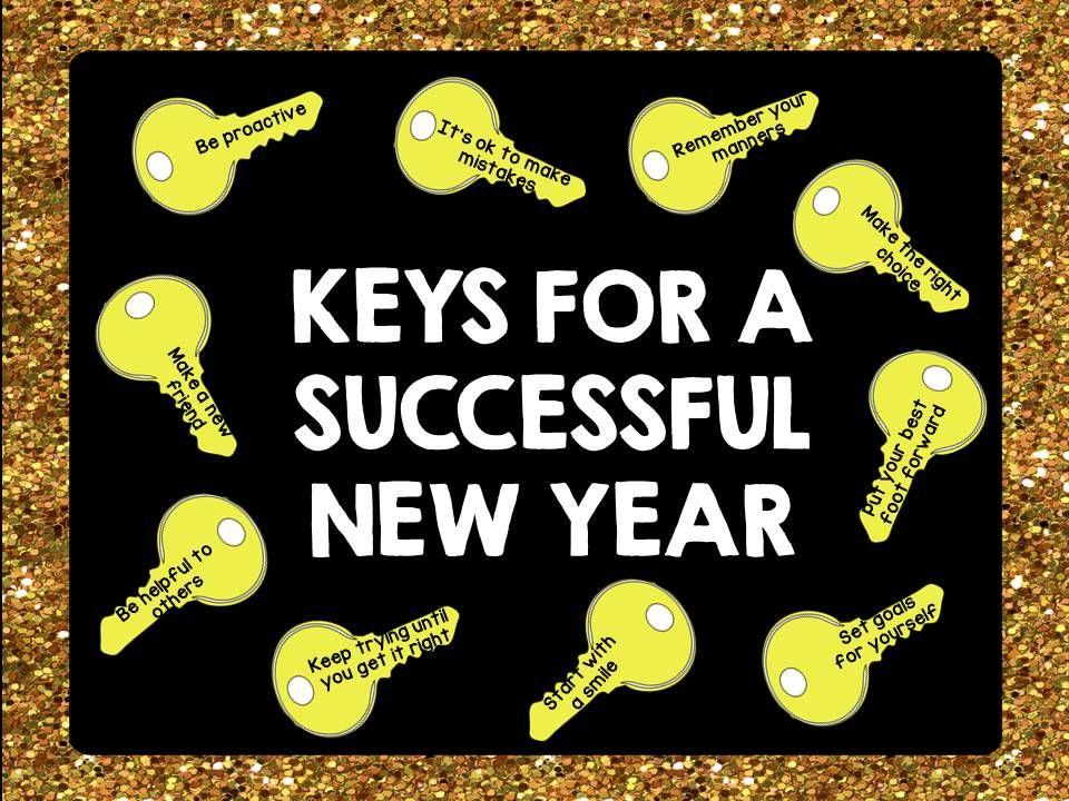 Back to School Bulletin Board Set - Keys for Success ...