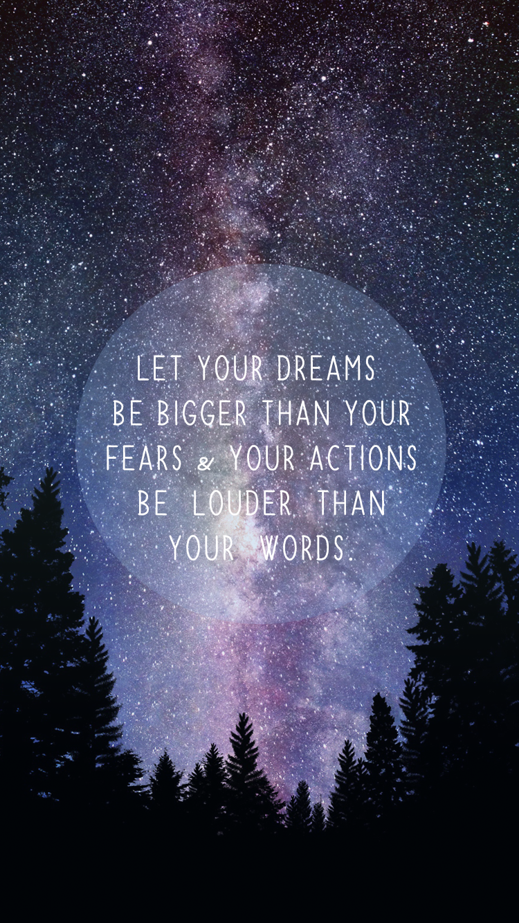 Free Inspirational iPhone 6 Wallpapers! (Just click to
