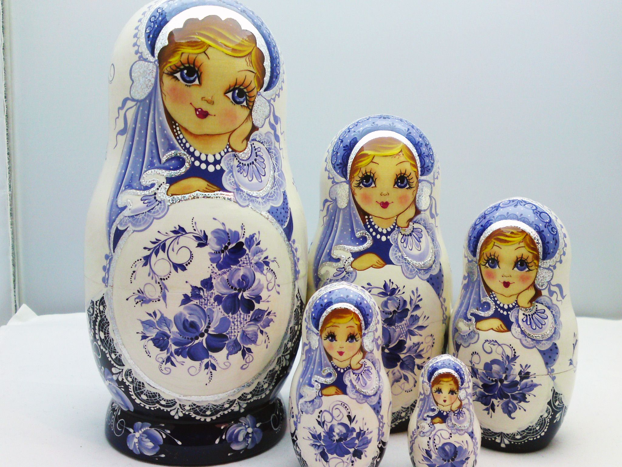 New Matryoshka Arrivals Original Hand Painted Russian