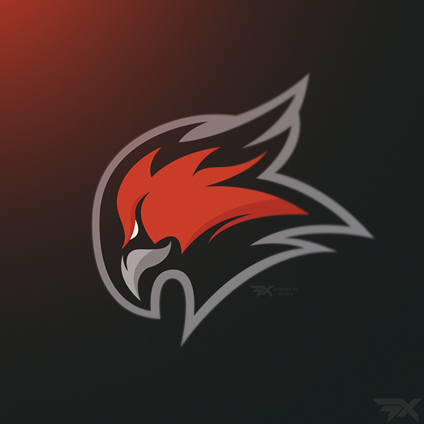 Phoenix Mascot logo - Edge on Behance | phoenix ...