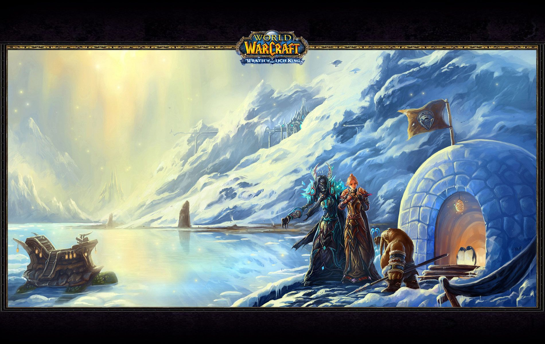 Lich king world of warcraft wrath of the lich king wallpaper