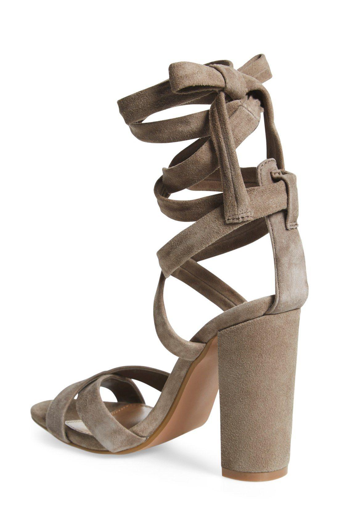 b9e272d7efd Free shipping and returns on Steve Madden  Christey  Wraparound Ankle Tie  Sandal (Women