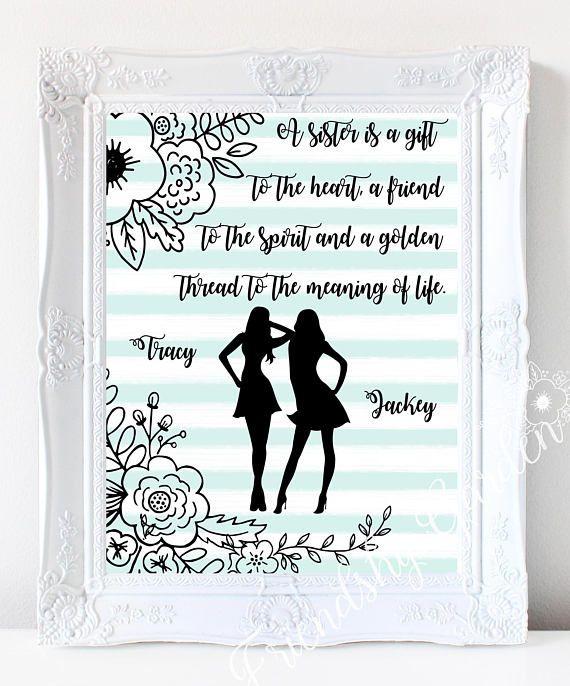 Sister gift Christmas gift for Sister birthday gift | sisters ...