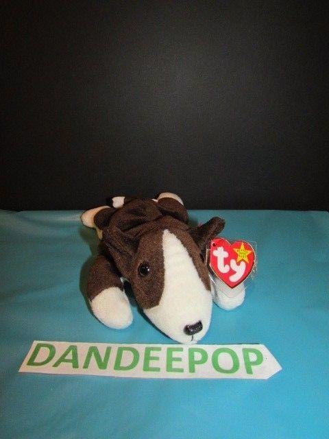 aa131fbfead TY Retired Beanie Baby Bruno Dog 1997 Retired Ty  Ty  Beanie  Bruno  Dog   beniebaby  dandeepop Find me at dandeepop.com
