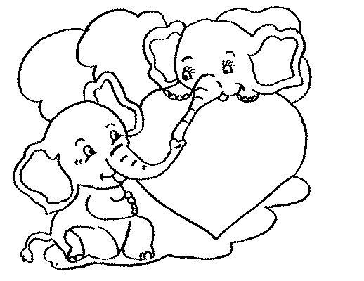 corazones de san valentin para colorear | dibujos | Pinterest ...