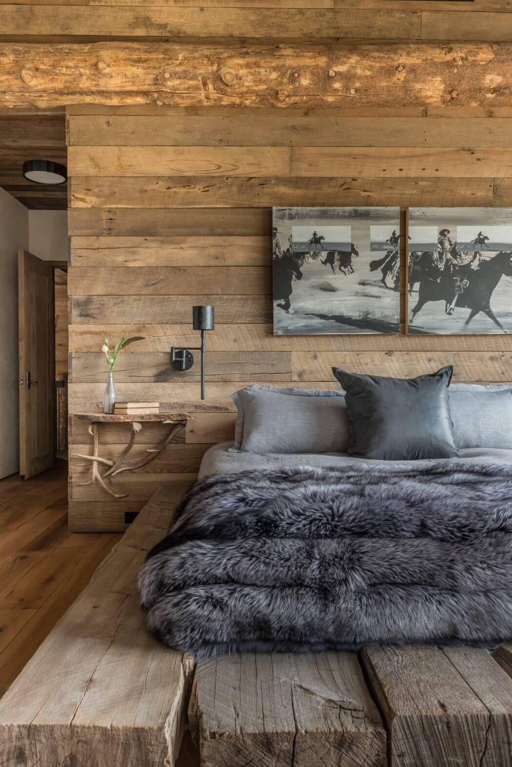 Fesselnd Gemütliches Schlafzimmer, Kaminzimmer, Chalet Möbel, Altholz, Wohnung  Möbel, Rustikal, Inzell