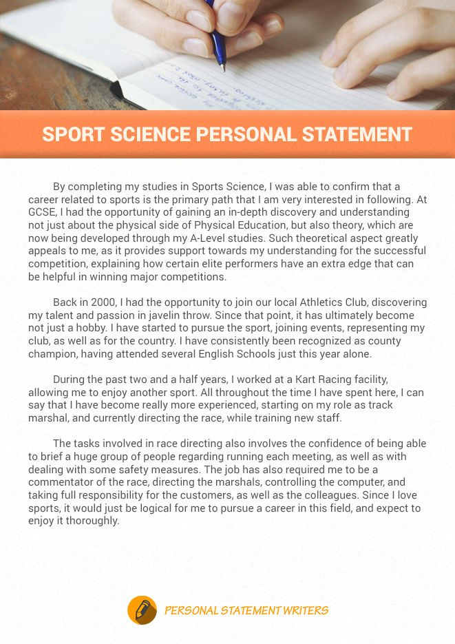 It I Not Easy To Write An Impressive Sport Personal Statement Here A Nice Samp Example Midwifery Of Journalism Statements