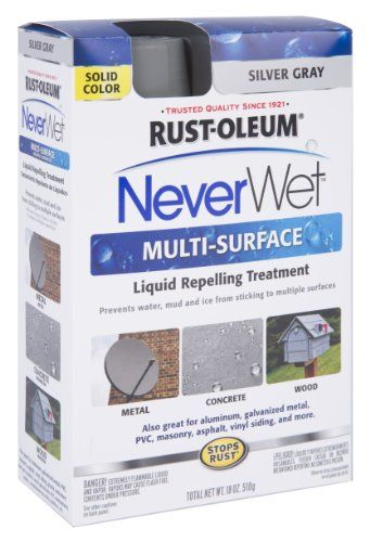 Rustoleum 275619 Never Wet Multi Purpose Kit Silver Gray See This Great Product Note It Is Affiliate Link To Amazon Rustoleum Treatment Kit Helpful Hints