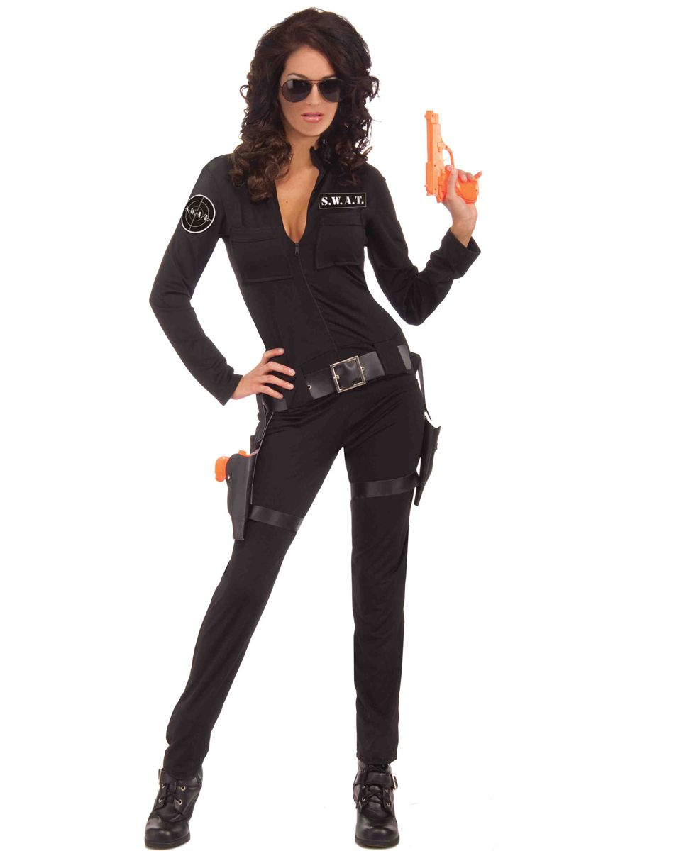 sexy swat costume woman of action fancy dress occupations costumes at escapade - Swat Costumes For Halloween
