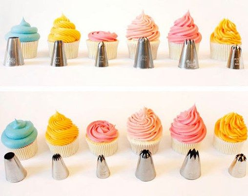 Easy Cupcake Icing Tutorials Cupcake Frosting Techniques Cupcakes Decoration Cupcake Icing