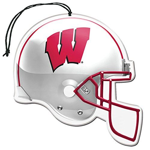 Licensed NCAA Wisconsin Badgers Nu-Car Scent Helmet Shape Air ...