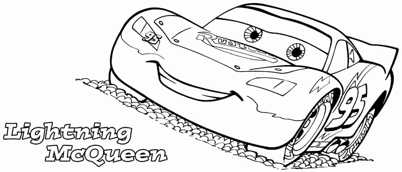 Cars the Movie Coloring Pages Elegant Mcqueen Cars