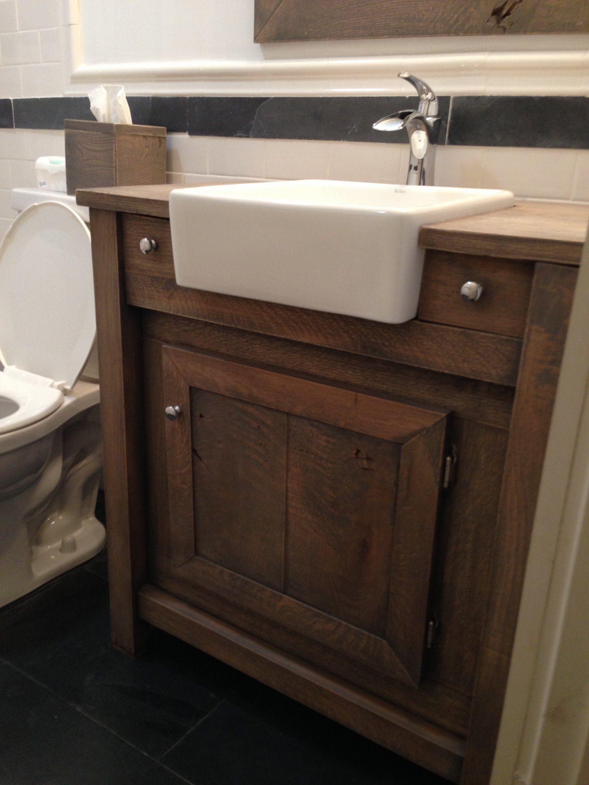 Farm Sink Bathroom Vanity Laredo With Farmhouse For Sale 10