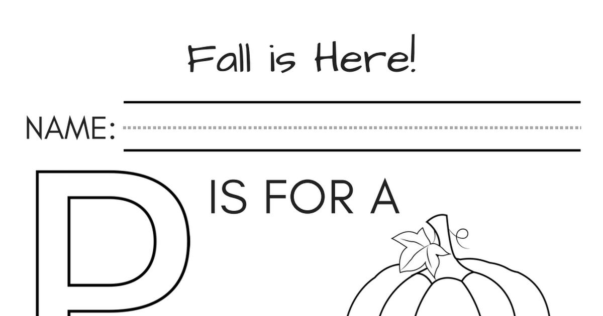 Fall worksheets kindergarten 4.pdf Kindergarten