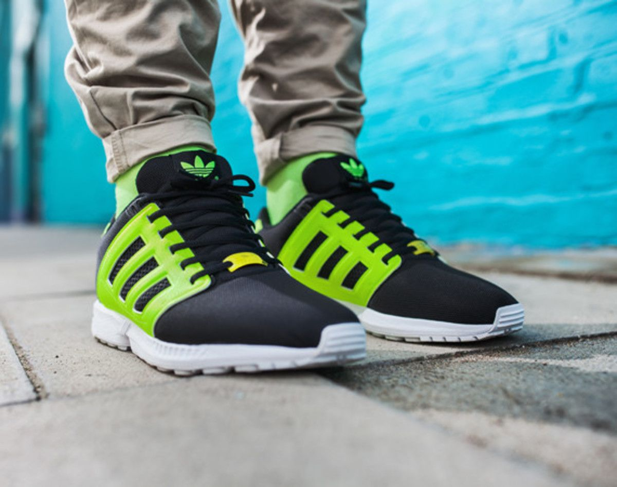 c35e5b399ef74 adidas ZX Flux 2.0 – Neon and Tonal Colorways - Freshness Mag