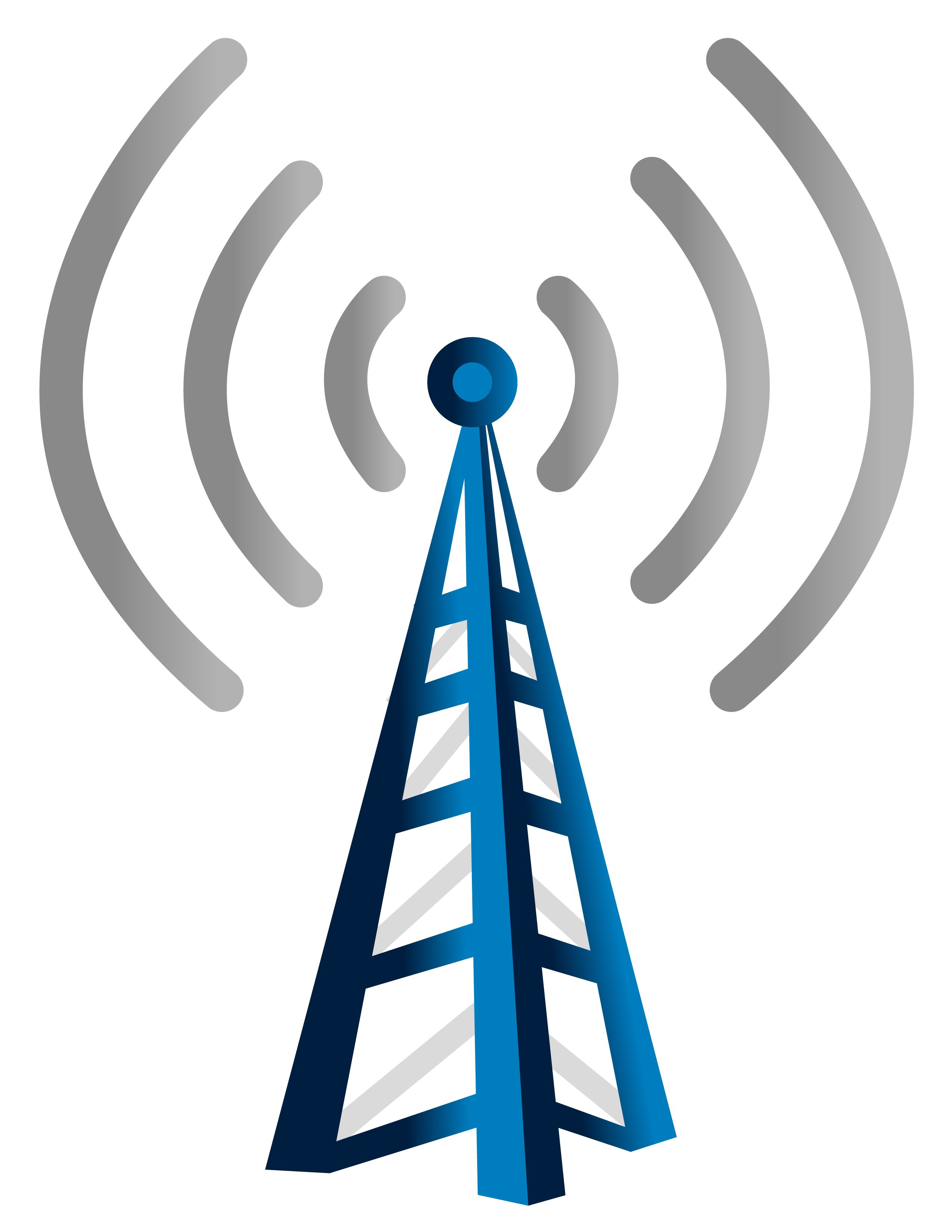 Cell Phone Tower Icon Illustration artwork drawing