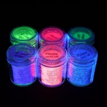 Neon UV eyeliner NEON UV PRODUCTS Neon UV make-up and body paints Face