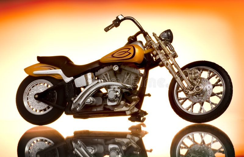 Motorcycle Picture Of A Motorcycle On Abstract Background