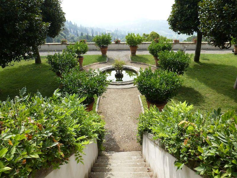 Villa Medici Fiesole Firenze It Garden Garden Design