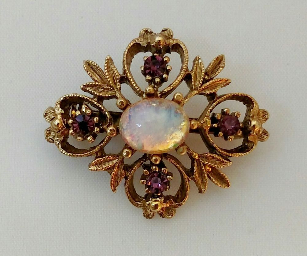 vintage img brooch the diamond edwardian opal product and jeweller