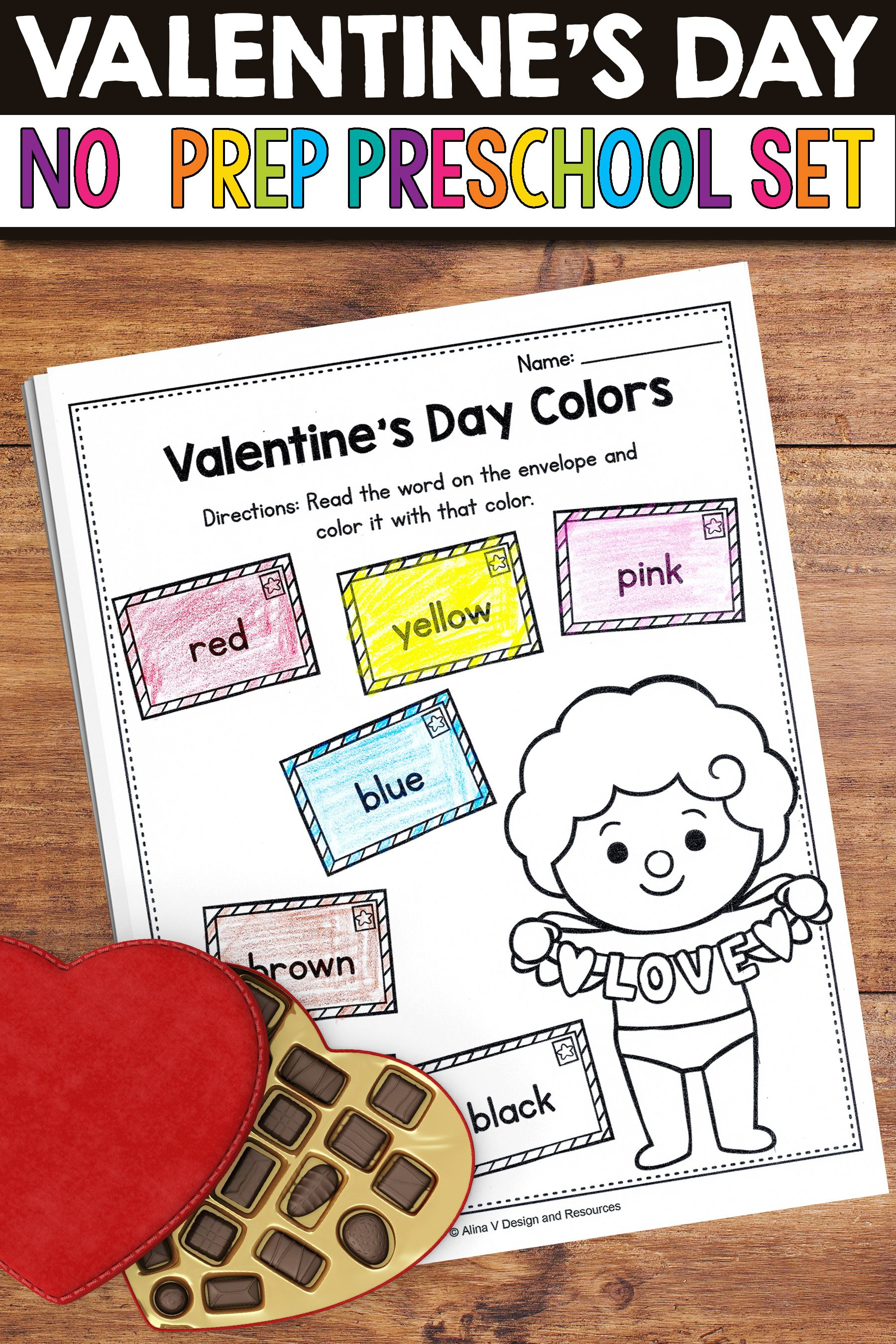 Valentine S Day Activities For Preschool Valentine S Day