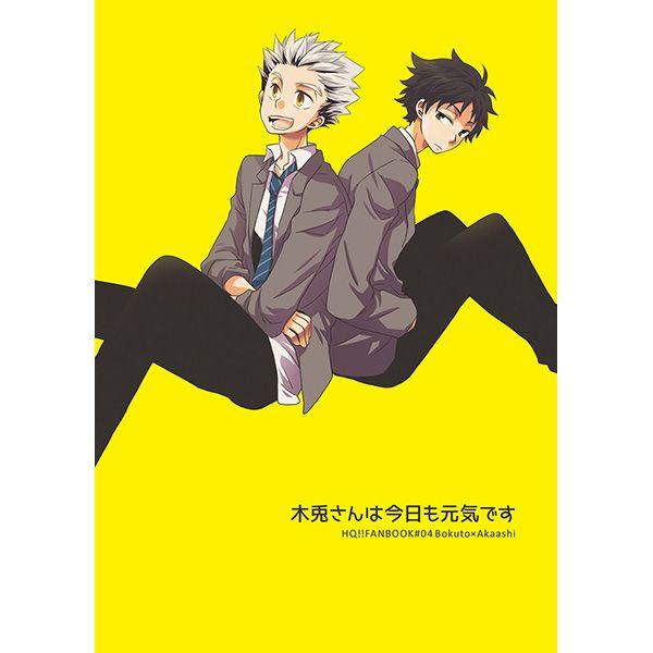 Doujinshi - Haikyuu!! / Bokuto Koutarou x Akaashi Keiji (木兎さんは今日も元気です) / Cellream
