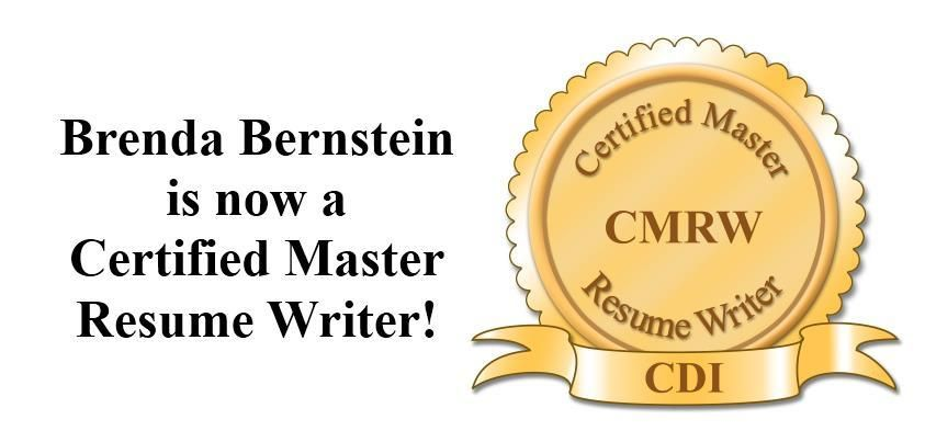 resume writer committee thank cdi certification honor