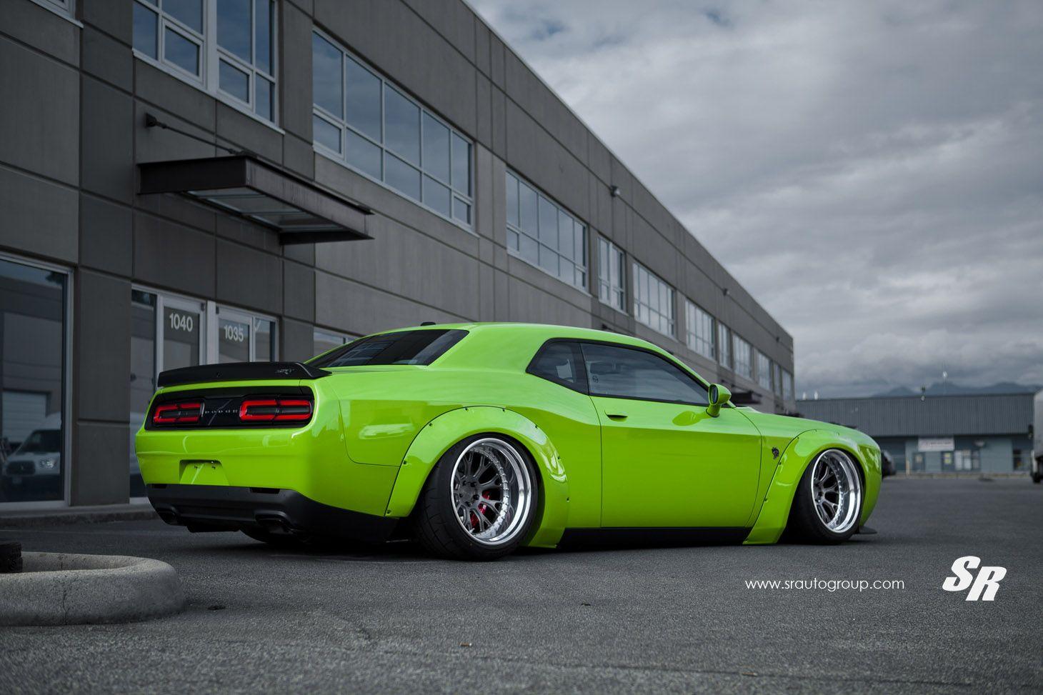 44++ Dodge challenger green go trends