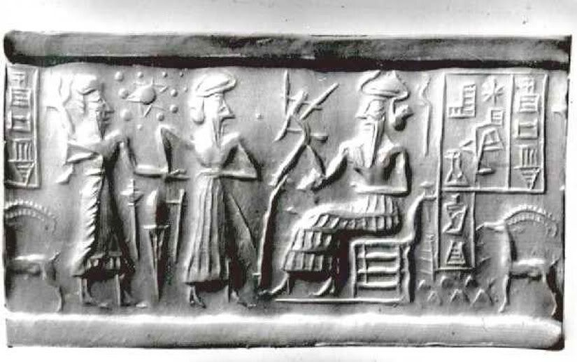 Sumerian cylinder seal va 243 berlin museum of near eastern ncient sumerian tablet the recorded civilization on earth publicscrutiny Choice Image