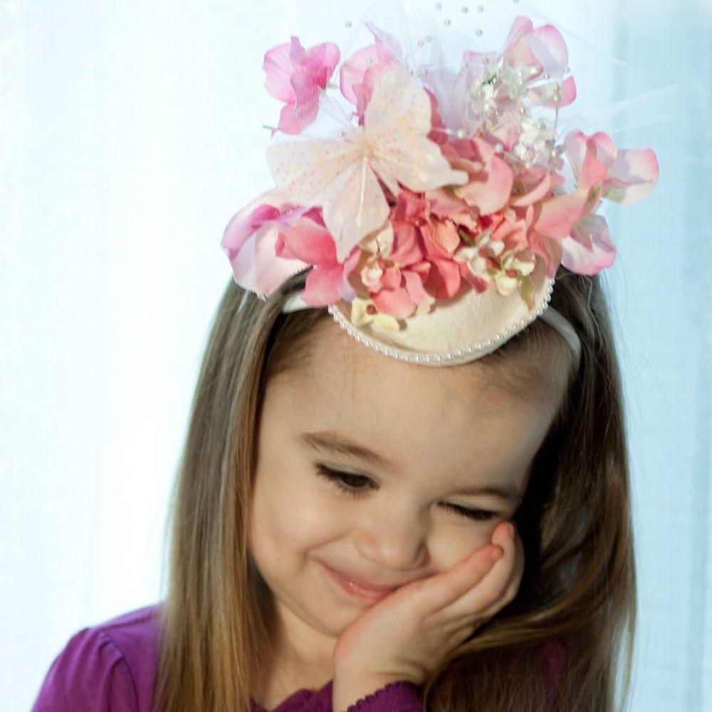 3b5be8b7eaa40 Reserved for LeAnn! Flower Girl hat