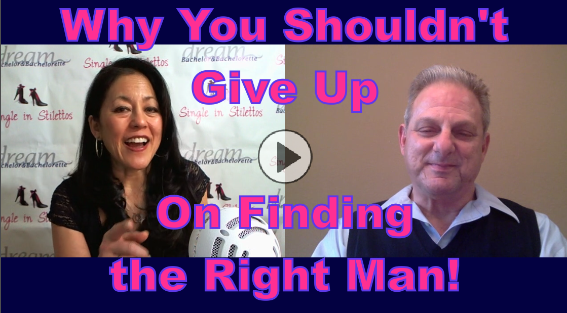 Great video interview for frustrated single women seeking the right guy in 2016.