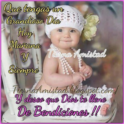 Tierna Amistad Dios Te Acompane Siempre Buenos Dias Con Humor