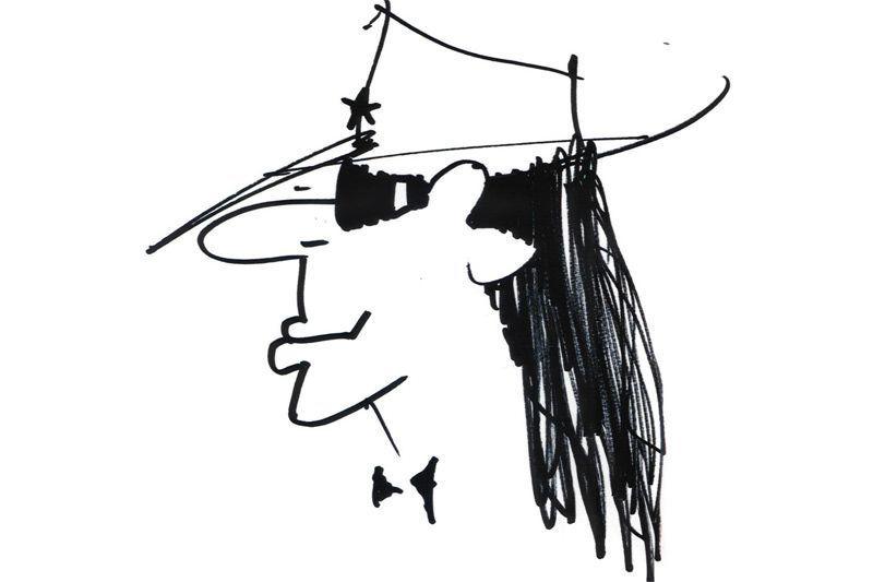 Udo Lindenberg Zeichnung