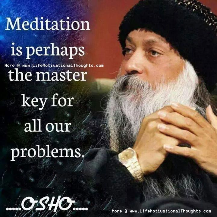 Osho Meditation Quotes, Sayings, Thoughts, Messages Images
