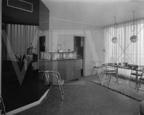Century Of Progress House Of Tomorrow 1933 Art Deco Living Room House Of Tomorrow Art Deco Interior