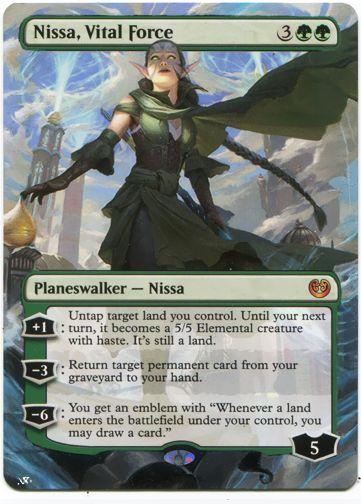 1x Nissa Vital Force NM-Mint English Kaladesh MTG Magic