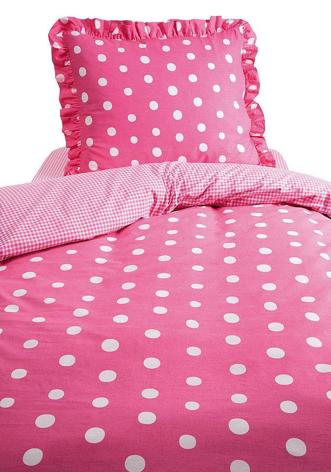 Bettwasche Damai Dotty Pink Polka Dots Polka Dot Bedding Hot Pink White