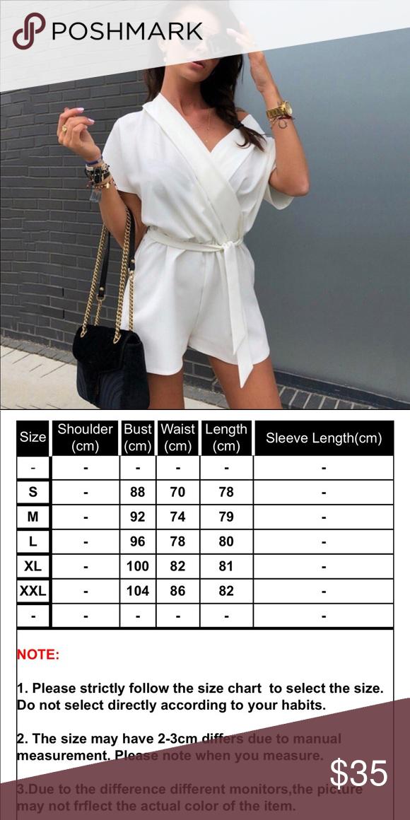 2 LEFT! Luxe White V-neck Jumpsuit
